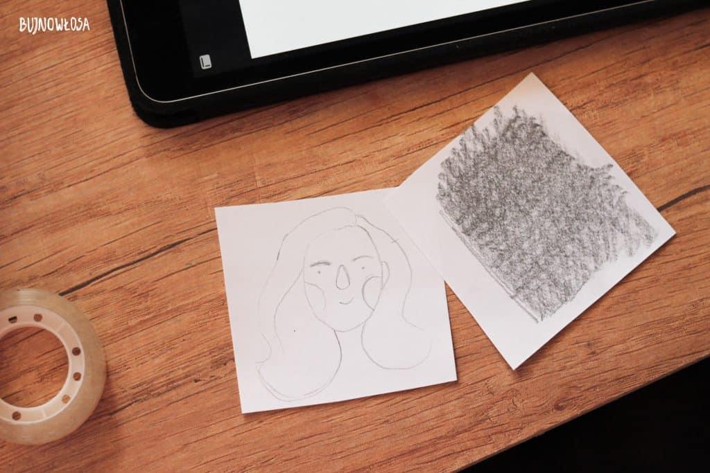 Proces tworzenia ilustracji na kubek