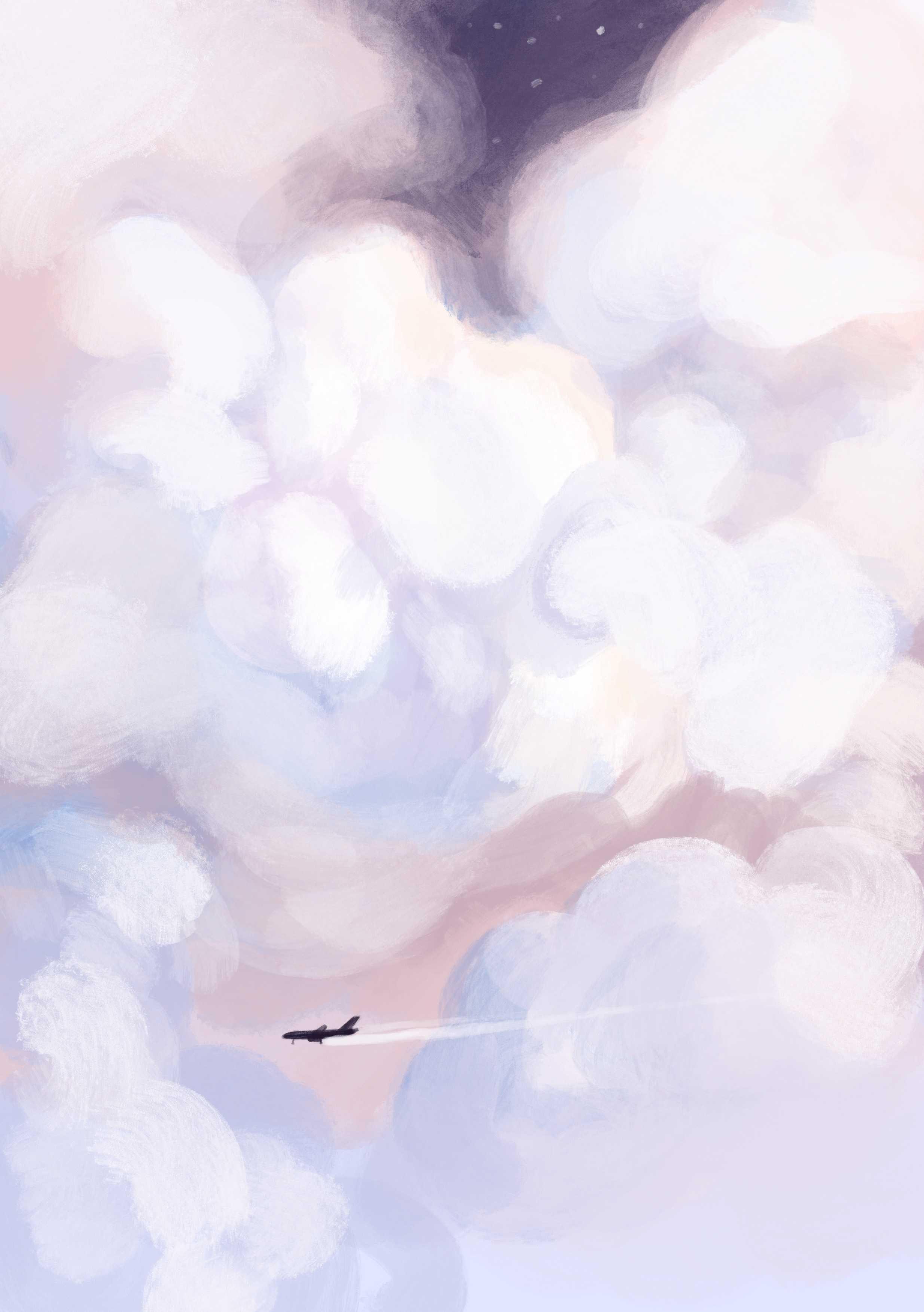 Ilustracja chmur