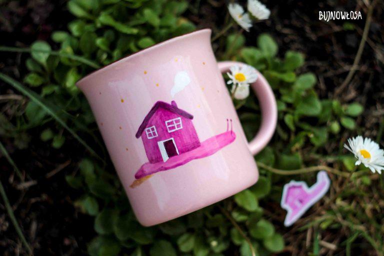Kubek ceramiczny malowany