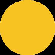 Żółty przycisk ilustracja na zamówienie